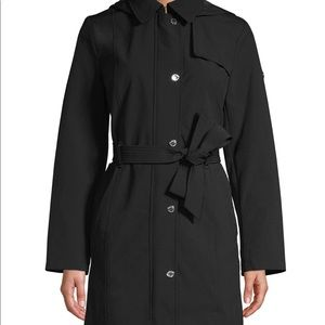 Hooded Trench Coat Calvin Klein